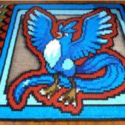 45,944個のドミノを使った『伝説の鳥ポケモン』ドミノがYouTubeで公開!