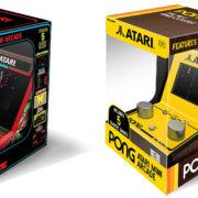 「Atari Mini Arcade」と「Atari Pong Mini Arcade」が海外向けとして2019年9月に発売決定!