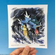 2019年6月発売予定『ポケモン 色紙ART』のギャラドス  サンプルが公開!