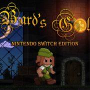 『Bard's Gold – Nintendo Switch Edition』が2019年5月2日に国内配信決定!「レインボーアイランド」や「アレックスキッド」から影響を受けたプラットフォームゲーム