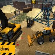 Switch版『Construction Machines Simulator』が海外向けとして2019年4月19日に配信決定!建設会社運営シミュレーター