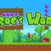 Switch用ソフト『Croc's World (クロックス ワールド)』が2019年4月4日から配信開始!痛快横スクロールアクションゲーム。体験版もあり