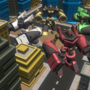 Nintendo Switch向けの共同作業アクションゲーム『デモリッションロボッツ K.K.』のプロトタイプ2版が「TOKYO SANDBOX 2019」に出展決定!