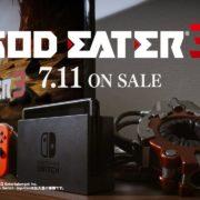 Switch版『ゴッドイーター3』が2019年7月11日(木)に発売決定!