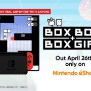 Switch用ソフト『ハコボーイ!ハコガール!』のBox basicsトレーラーが公開!