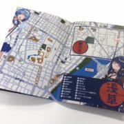 『俺達の世界わ終っている。』の登場キャラクターたちが浅草の名所を紹介する「オレオワ的 観光マップ」が公開!