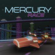 Switch版『Mercury Race』の国内配信日が2019年4月18日に決定!レトロ未来的なレーシングシューティングゲーム
