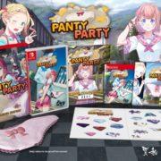Switch版『パンティパーティー』のパッケージ版の詳細が公開!