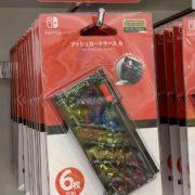 ポケモンセンターにて「ピカチュウ&ミュウツー」柄を特色とするSwitch用の『ショルダーポーチ/プッシュカードケース6/ハードポーチ』が2019年4月13日より販売開始!
