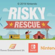 Switch版『Risky Rescue』が海外向けとして発売決定!アーケードスタイルの人命救助ゲーム