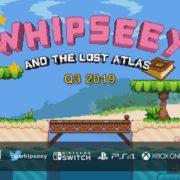 キュートな2Dアクションゲーム『Whipseey and The Lost Atlas』がコンソール&PC向けとして2019年Q3に海外発売決定!