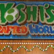 34,788個のドミノを使った『ヨッシークラフトワールド』ドミノがYouTubeで公開!