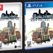 都市建設ゲーム『Buildings Have Feelings Too!』がパッケージでも発売決定!