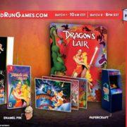 『Dragon's Lair Trilogy』のパッケージ版がLimited Run Gamesから発売決定!