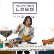 Nintendo Laboのディレクター阪口翼氏が自らラボを解説する動画が公開!