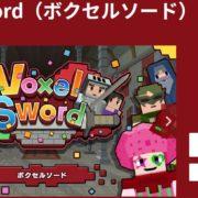 Switch用ソフト『Voxel Sword』の体験版が2019年5月9日から配信開始!