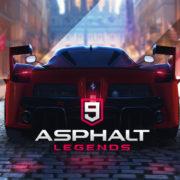 Switch版『Asphalt 9: Legends Enters』が2019年夏後半に国内発売決定!