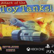 コンソール版『Attack of the Toy Tanks』が海外向けとして2019年6月28日に配信決定!おもちゃ戦車によるアクションゲーム