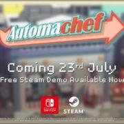 Switch&PC用ソフト『Automachef』の海外配信日が2019年7月23日に決定!