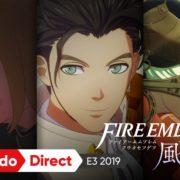 Switch用ソフト『ファイアーエムブレム 風花雪月』のE3 2019トレーラーが公開!