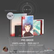Switch版『GRIS』のパッケージ版が6月25日から予約受付開始!豪華限定版も