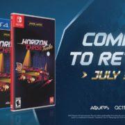 PS4&Switch版『Horizon Chase Turbo』のパッケージ版 海外発売日が2019年7月30日に決定!