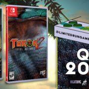 Nintendo Switch版『Turok and Turok 2』のパッケージ版がLimited Run Gamesから発売決定!