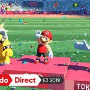 『マリオ&ソニック AT 東京2020オリンピック』の発売日が2019年11月に決定!
