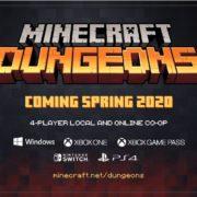 PS4&Xbox One&Switch&PC用ソフト『Minecraft Dungeons』が2020年春に発売決定!古典的なダンジョンクローラーにインスパイアされたアクションアドベンチャーゲーム