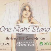 PS4&Xbox One&Switch版『One Night Stand』が海外向けとして2019年夏に発売決定!ポイントアンドクリックアドベンチャー