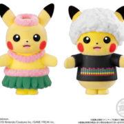 バンダイキャンディから『ポケモふどーる3 ピカチュウお着替えセレクション』が2019年8月に発売決定!画像が更新!