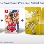 ヨーロッパの『ポケットモンスター ソード・シールド』ダブルパックには「ゴールデンスチールブック」が含まれる。