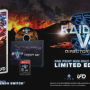 Switch版『雷電V Director's Cut』が海外発売日が2019年7月25日に決定!