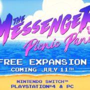 【更新】『The Messenger』のDLC「Picnic Panic」の海外配信日が2019年7月11日に決定!