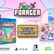PS4&Switch版『Forager』のパッケージ版 海外発売日が2019年10月に延期に!