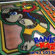 43,203個のドミノを使った『バンジョー&カズーイ』ドミノがYouTubeで公開!