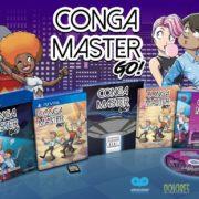 PSVita版『Conga Master Go!』が2019年7月26日に配信決定!海外ではパッケージ版の発売も
