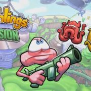 Switch版『Doughlings: Invasion』の国内配信日が2019年8月8日に決定!『Doughlings: Arcade』の続編となるアクションSTG