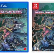 PS4&Switch版『ザ・ニンジャウォーリアーズ ワンスアゲイン』の韓国での発売日が2019年7月25日に決定!パッケージ版も登場