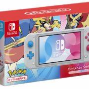 『ポケットモンスター ソード・シールド』デザインの「Nintendo Switch Lite ザシアン・ザマゼンタ」のパッケージ画像が公開!