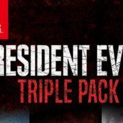 『Resident Evil Triple Pack』が海外向けとして2019年10月29日に発売決定!