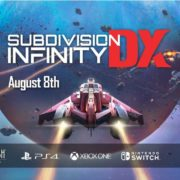 PS4&Xbox One&Switch&PC用ソフト『Subdivision Infinity DX』の海外発売日が2019年8月8日に決定!サイエンス・フィクション3DスペースSTG