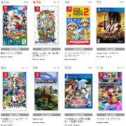 【TSUTAYA ゲームランキング】2019年6月24日~6月30日のランキングが公開!