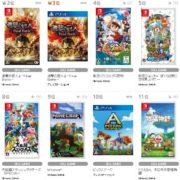 【TSUTAYA ゲームランキング】2019年7月1日~7月7日のランキングが公開!