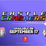 Switch版『Castle Crashers Remastered』の海外発売日が2019年9月17日に決定!