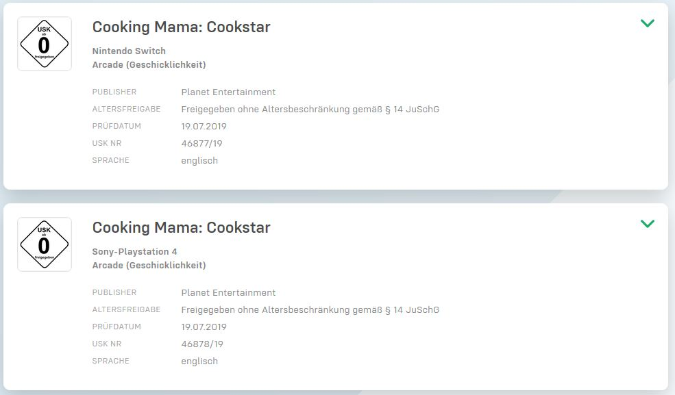 Cooking Mama: Cookstar』がPS4...