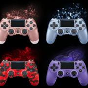 PS4用「ワイヤレスコントローラー(DUALSHOCK 4) ローズ・ゴールド / チタン・ブルー / エレクトリック・パープル / レッド・カモフラージュ」の予約が開始!
