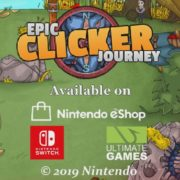 Switch版『Epic Clicker Journey』が海外向けとして2019年8月6日に配信決定!『Shadows 2: Perfidia』も登場