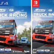 PS4&Switch版『FIA ヨーロピアン・トラックレーシング・チャンピオンシップ』の最新ゲームプレイトレーラーとパッケージ版初回封入特典が公開!
