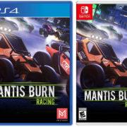 PS4&Switch版『Mantis Burn Racing』のパッケージ版 海外発売日が2019年12月12日に決定!